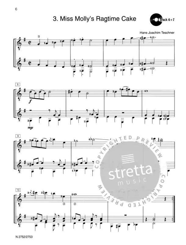 + CD Fridolin goes Pop Band 2 für zwei Gitarren Gitarre Noten