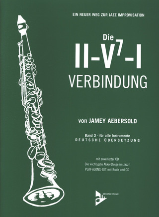 Jamey Aebersold: The II-V7-I Progression Vol. 3