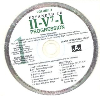 Jamey Aebersold: ii-V7-I Progression