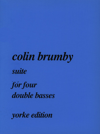 Brumby Colin: Suite