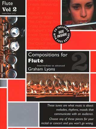 Graham Lyons: Compositions For Flute 2