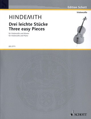 Paul Hindemith: Three easy Pieces