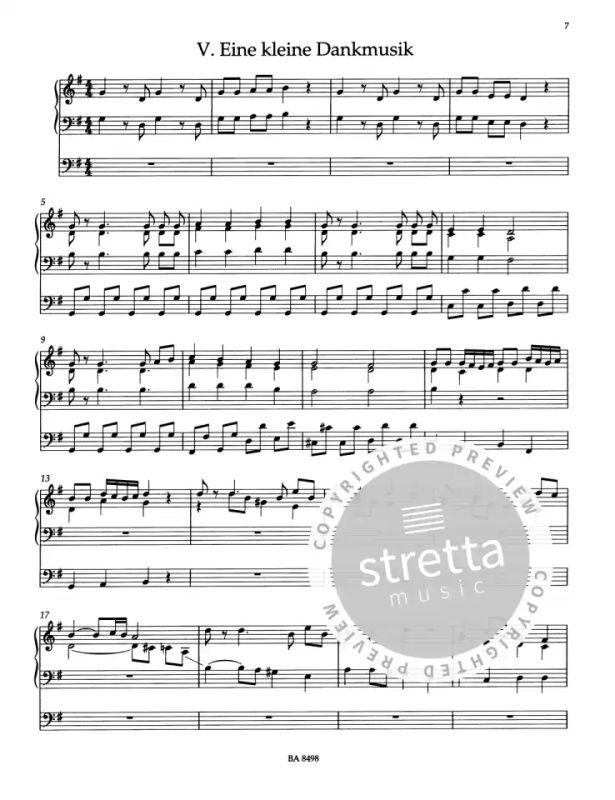 Variationen Für Orgel über Danke Für Diesen Guten Morgen
