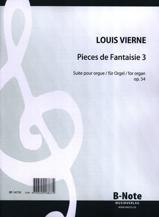 Louis Vierne: Pieces De Fantaisie (Suite 3 Op 54)