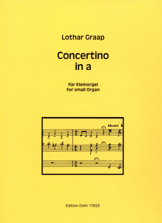 Lothar Graap: Concertino in a