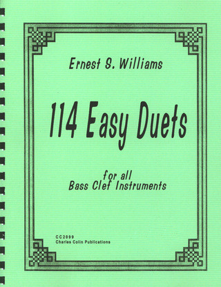 Williams Ernest: 114 Easy Duets For All Bass Clef Instruments