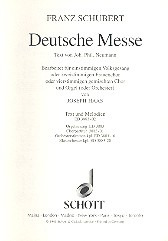 Franz Schubert: Deutsche Messe D 872