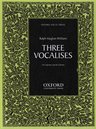 Ralph Vaughan Williams: 3 Vocalises