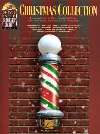 Christmas Collection - Sing In The Barbershop Quartet Volume 5 (Book/CD)