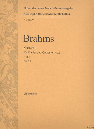 Johannes Brahms: Concerto No. 2 in B flat major Op. 83
