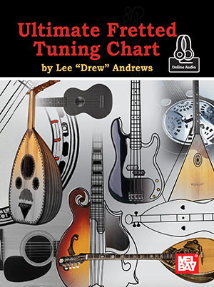 Andrews Lee Drew: Ultimate Fretted Tuning Chart