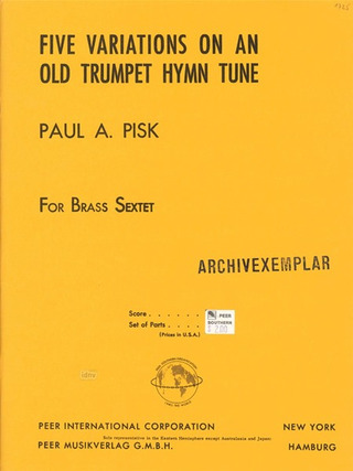 Paul Pisk: Five Variations on an Old Trumpet