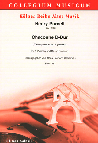 Henry Purcell: Chaconne D-Dur