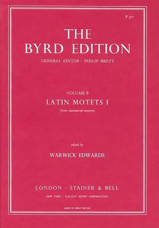 William Byrd: Latin Motets I