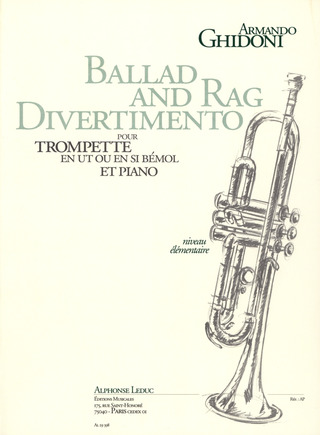 Armando Ghidoni: Ballad And Rag Divertimento