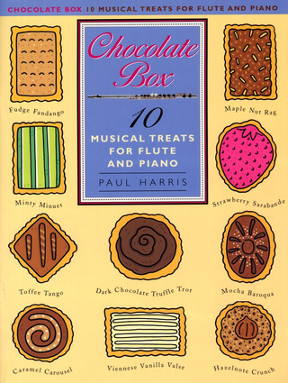 Paul Harris: Harris, P Chocolate Box Musical Treats Flute & Piano Accompaniment