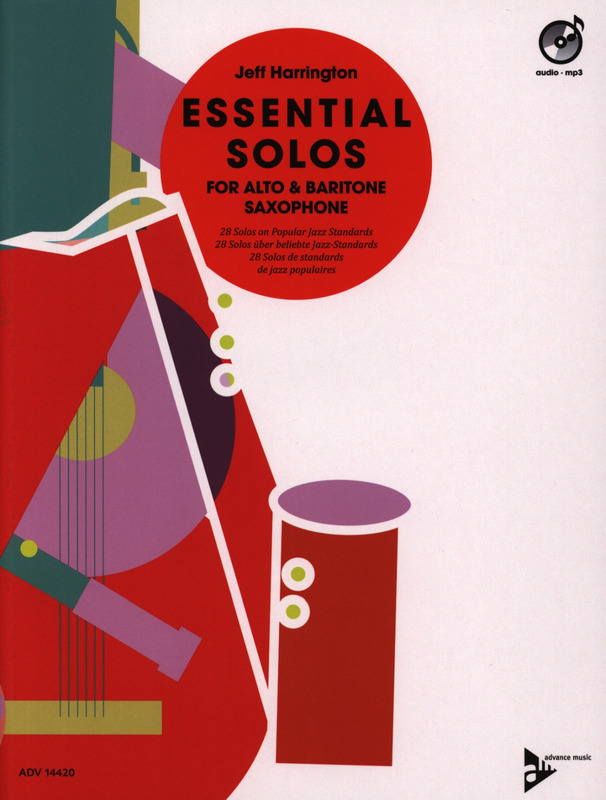 Jeff Harrington: Essential Solos for Alto & Baritone Saxophone