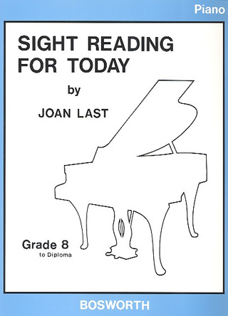 Last Joan: Sight Reading For Today Grade 8 To Diploma