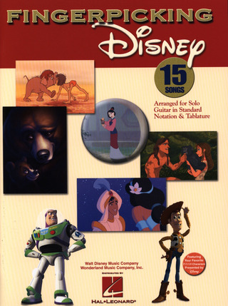 Fingerpicking Disney Gtr Book