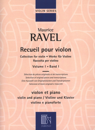 Maurice Ravel: Collection for violin 1