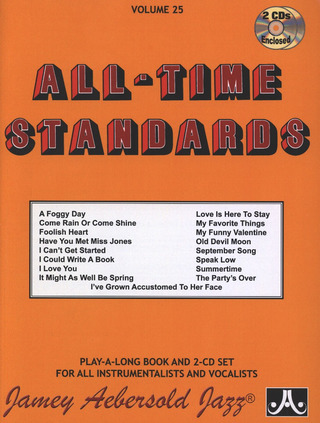 Jamey Aebersold: All-Time Standards Vol. 25