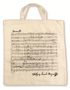 Tote Bag Mozart cream