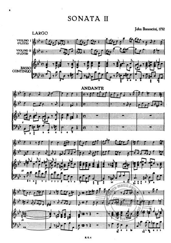 Giovanni Battista Bononcini: Triosonate 2 (1)