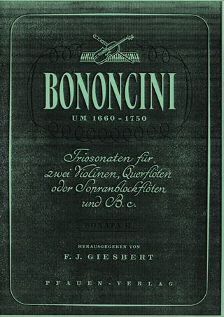 Giovanni Battista Bononcini: Triosonate 2