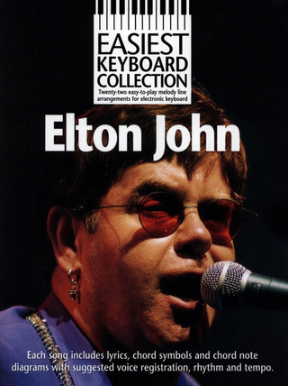Elton John: Easiest Keyboard Collection Elton John
