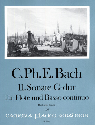 Carl Philipp Emanuel Bach: Sonate 11 G-Dur (Hamburger Sonate)