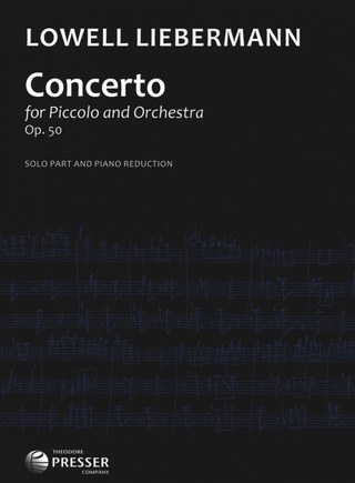 Lowell Liebermann: Concerto Op 50 - Picc Orch