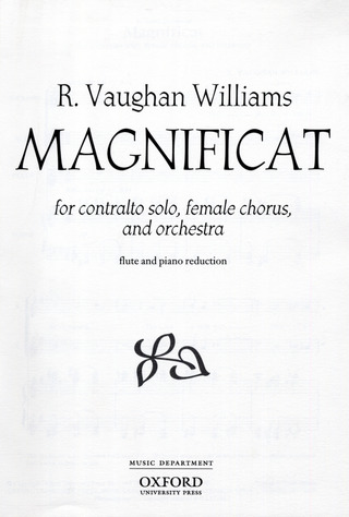 Ralph Vaughan Williams: Magnificat