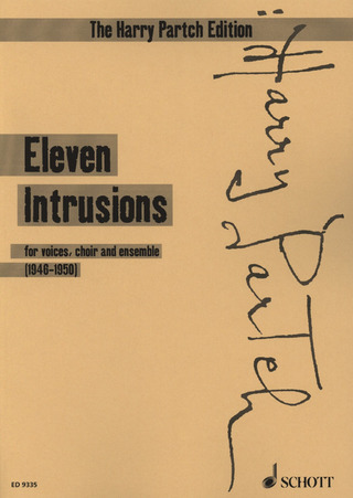 Harry Partch: 11 intrusions