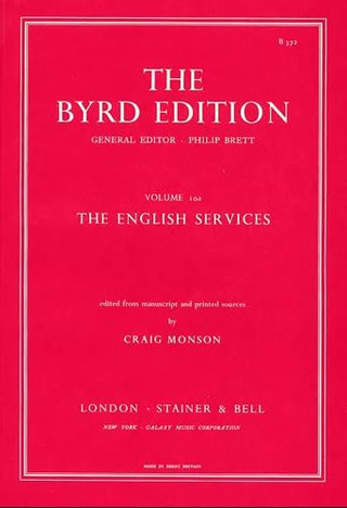 William Byrd: The English Services