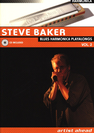 Baker Steve: Blues Harmonica Playalongs 2