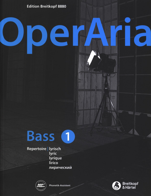 OperAria Bass 1 – lyrisch