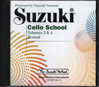 Shin'ichi Suzuki: Cello School 3 + 4