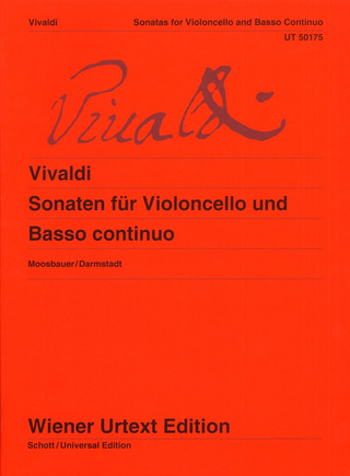 Antonio Vivaldi: Complete Sonatas for Cello and Basso Continuo