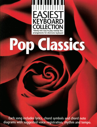 Easiest Keyboard Collection Pop Classics MLC