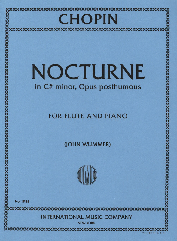 Frédéric Chopin: Nocturne Cis-Moll Op Posth
