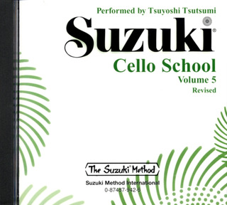 Shin'ichi Suzuki: Cello School 5