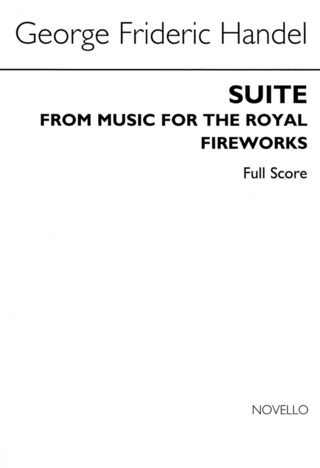 Georg Friedrich Händel: Handel Music For The Royal Fireworks (Score) Orch