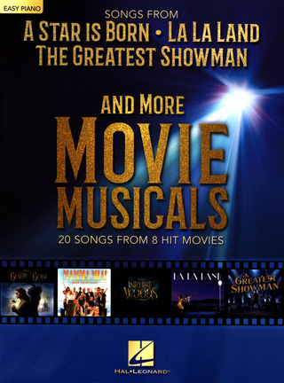 "Songs from ""A Star is born"", ""La La Land"", ""The greatest Showman"" and more Movie Musicals"