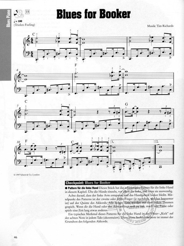 Blues Piano 1 from Tim Richards | buy now in Stretta sheet