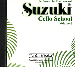Shin'ichi Suzuki: Cello School 6
