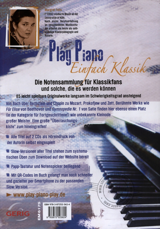 Play Piano Einfach Klassik Van Margret Feils In De Stretta Bladmuziek Shop Kopen