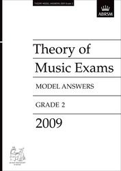 Theory of Music Exams 2009 – Model Answers – Grade 2
