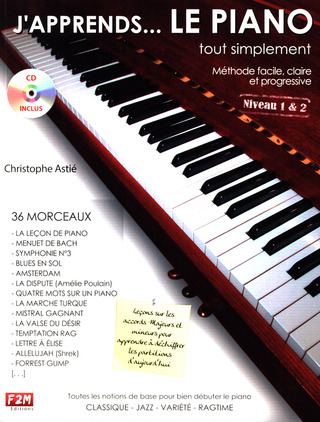 Christophe Astié: J'apprends le Piano... tout simplement 1