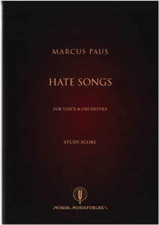 Marcus Paus: Hate Songs