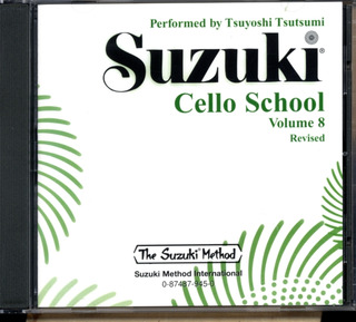 Shin'ichi Suzuki: Cello School 8